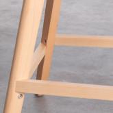 Hoher Hocker aus Polypropylen und Stoff Fine Freya Fabric (65 cm), Miniaturansicht 6