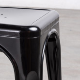 Esszimmerstuhl aus Stahl Industrial Pau, Miniaturansicht 4