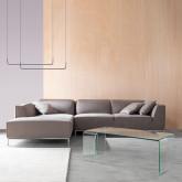 Chaise Longue Links 4-Sitzer Sofa Nobuck Rochi , Miniaturansicht 2