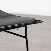 Esszimmerstuhl aus Stahl Amber Edition Black, Miniaturansicht 6