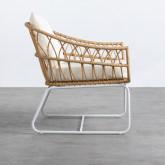 Sessel mit Armlehnen aus synthetischem Rattan Noli, Miniaturansicht 3