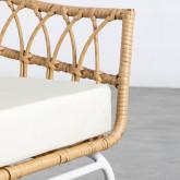 Sessel mit Armlehnen aus synthetischem Rattan Noli, Miniaturansicht 8