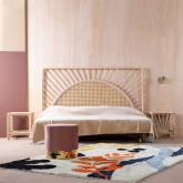 Handgefertigter Teppich Fle 230x160 cm, Miniaturansicht 2