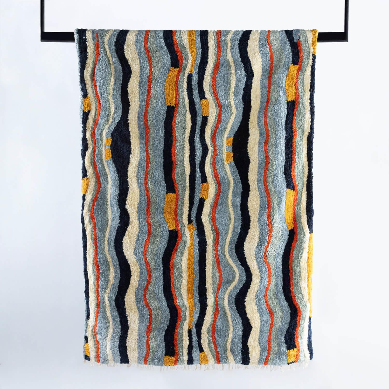 Handgefertigter Teppich Viele 230x160 cm, Galeriebild 1