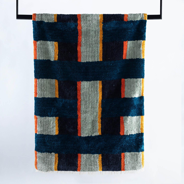Handgefertigter Teppich Miter 230x160 cm, Galeriebild 1