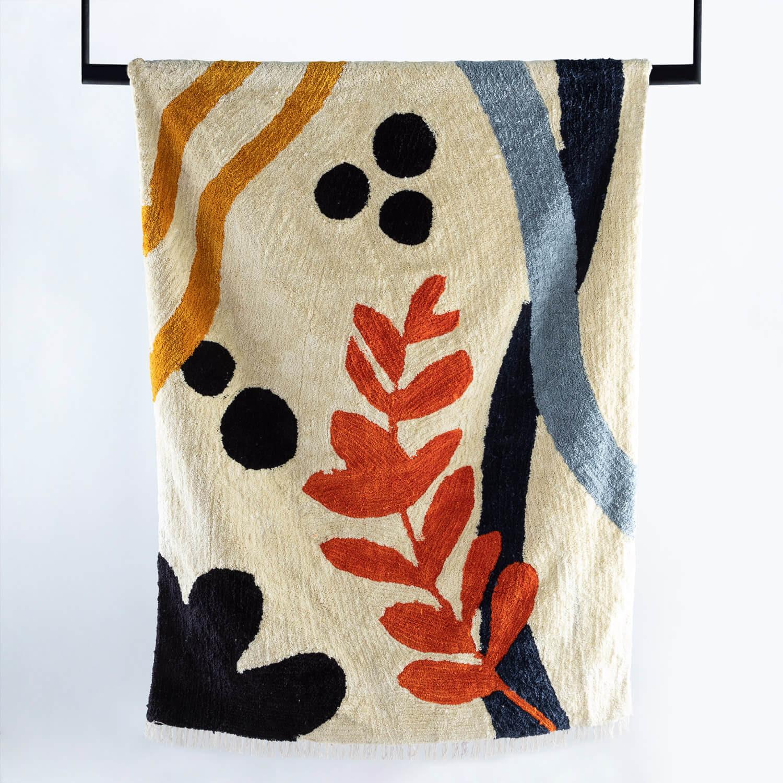 Handgefertigter Teppich Fle 230x160 cm, Galeriebild 1