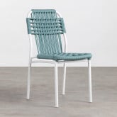 Outdoor Stuhl aus Aluminium und Textil Alorn, Miniaturansicht 1