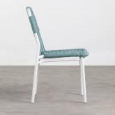 Outdoor Stuhl aus Aluminium und Textil Alorn, Miniaturansicht 3
