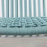 Outdoor Stuhl aus Aluminium und Textil Alorn, Miniaturansicht 5