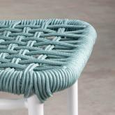 Outdoor Stuhl aus Aluminium und Textil Alorn, Miniaturansicht 6