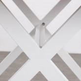 Outdoor Tisch Rechteckig aus Holz und Stahl (160x80 cm) Ship, Miniaturansicht 4