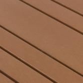 Outdoor Tisch Rechteckig aus Holz und Stahl (160x80 cm) Ship, Miniaturansicht 5