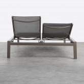 Doppelliege aus Aluminium und Textilene Kory, Miniaturansicht 10