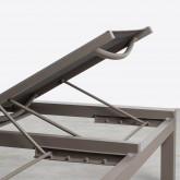Doppelliege aus Aluminium und Textilene Kory, Miniaturansicht 13
