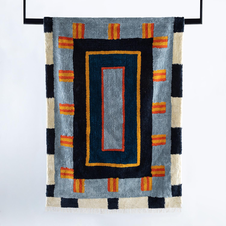 Handgefertigter Teppich Mosac 230x160 cm, Galeriebild 1
