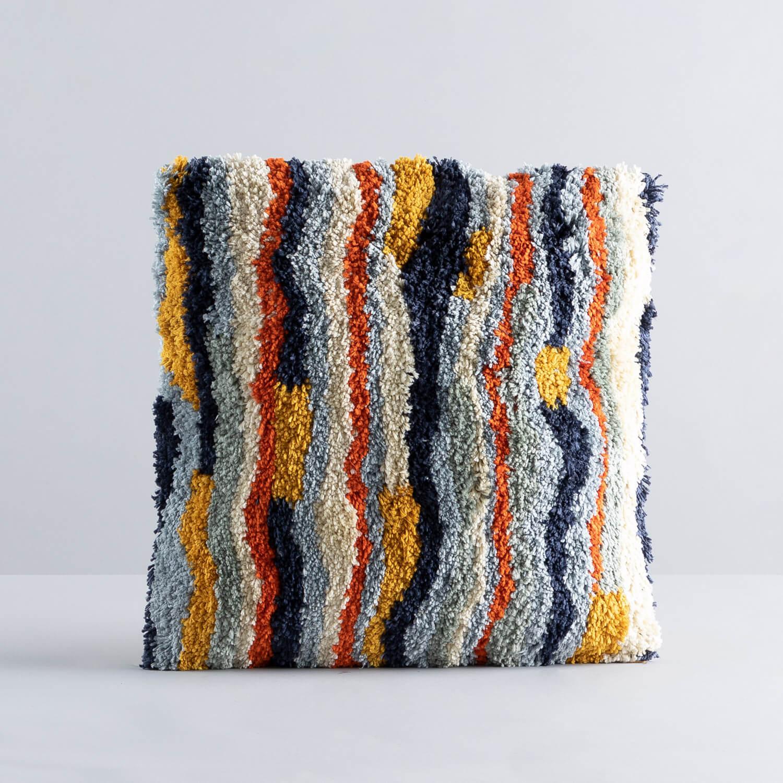 Quadratisches Baumwollkissen (50x50 cm) Viele, Galeriebild 1