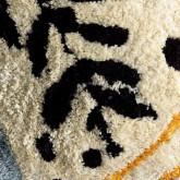 Quadratisches Baumwollkissen (50x50 cm) Fle, Miniaturansicht 2