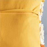 Quadratisches Baumwollkissen (50x50 cm) Fle, Miniaturansicht 4