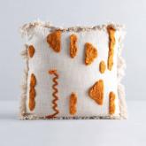 Quadratisches Baumwollkissen (50x50 cm) Pirim, Miniaturansicht 1