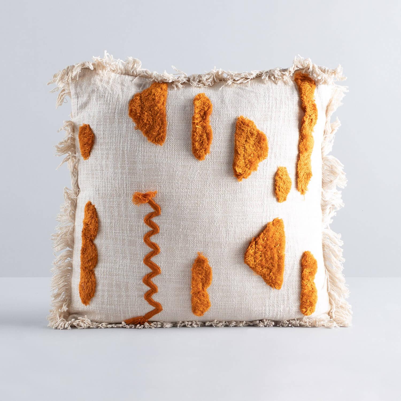 Quadratisches Baumwollkissen (50x50 cm) Pirim, Galeriebild 1