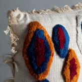 Quadratisches Kissen aus Baumwolle (50x50 cm) Fares, Miniaturansicht 2