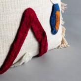 Quadratisches Kissen aus Baumwolle (50x50 cm) Fares, Miniaturansicht 3