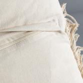 Quadratisches Kissen aus Baumwolle (50x50 cm) Fares, Miniaturansicht 4