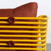 Outdoorstuhl aus Textil und Metall Bali, Miniaturansicht 8