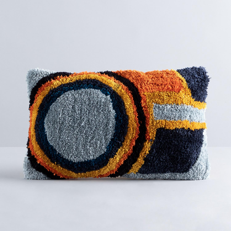 Rechteckiges Kissen aus Baumwolle (15x50 cm) Runi, Galeriebild 1
