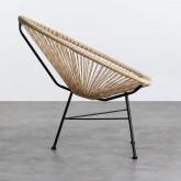 Outdoor Stuhl aus Polyethylen und Stahl Copacabana Twist, Miniaturansicht 3