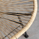 Outdoor Stuhl aus Polyethylen und Stahl Copacabana Twist, Miniaturansicht 5