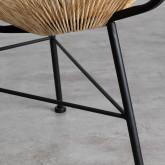 Outdoor Stuhl aus Polyethylen und Stahl Copacabana Twist, Miniaturansicht 7