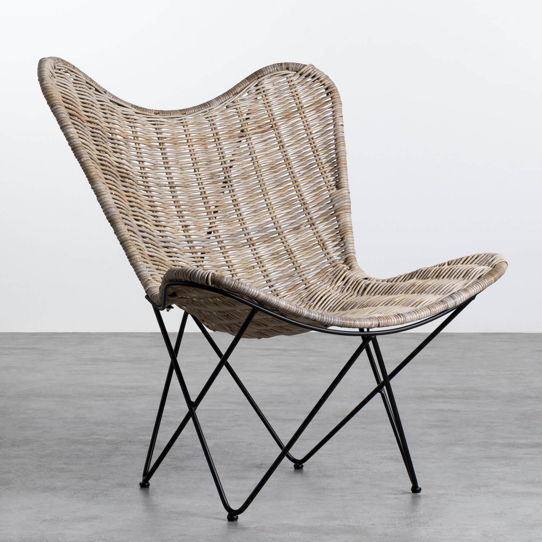 Sessel aus Natur-Rattan Timot, Galeriebild 1