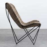Sessel aus Natur-Rattan Timot, Miniaturansicht 3