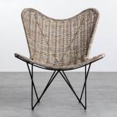 Sessel aus Natur-Rattan Timot, Miniaturansicht 5
