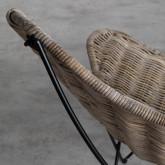 Sessel aus Natur-Rattan Timot, Miniaturansicht 7