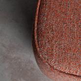 Quadratischer Pouff aus Stoff Escua, Miniaturansicht 4