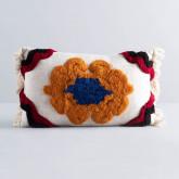 Rechteckiges Kissen aus Baumwolle (15x50 cm) Hau, Miniaturansicht 1