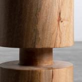 Niedriger Hocker aus Holz Blaki (46 cm), Miniaturansicht 5