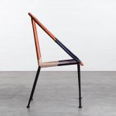 Outdoor Stuhl aus Rattan und Stahl Orag, Miniaturansicht 3