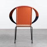 Outdoor Stuhl aus Rattan und Stahl Orag, Miniaturansicht 5