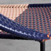 Outdoor Stuhl aus Rattan und Stahl Orag, Miniaturansicht 8
