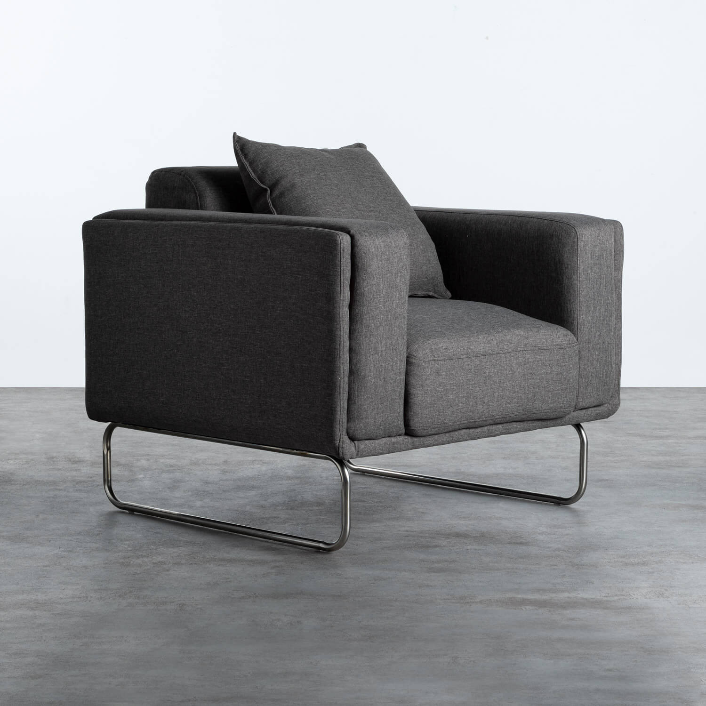 Sessel mit Armlehnen aus Textil Mara, Galeriebild 1
