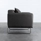 Sessel mit Armlehnen aus Textil Mara, Miniaturansicht 3