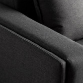 Sessel mit Armlehnen aus Textil Mara, Miniaturansicht 5