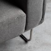 Sessel mit Armlehnen aus Textil Mara, Miniaturansicht 6