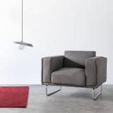 Sessel mit Armlehnen aus Textil Mara, Miniaturansicht 2