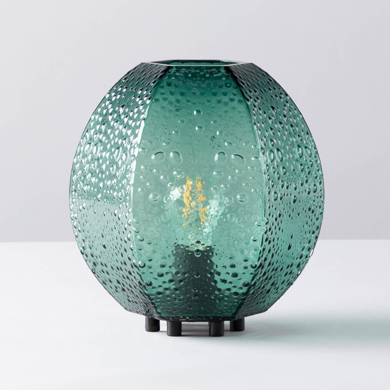 Tischlampe aus Glas Calip, Galeriebild 1
