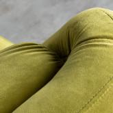 Sessel mit Armlehnen aus Samt Nubo, Miniaturansicht 6