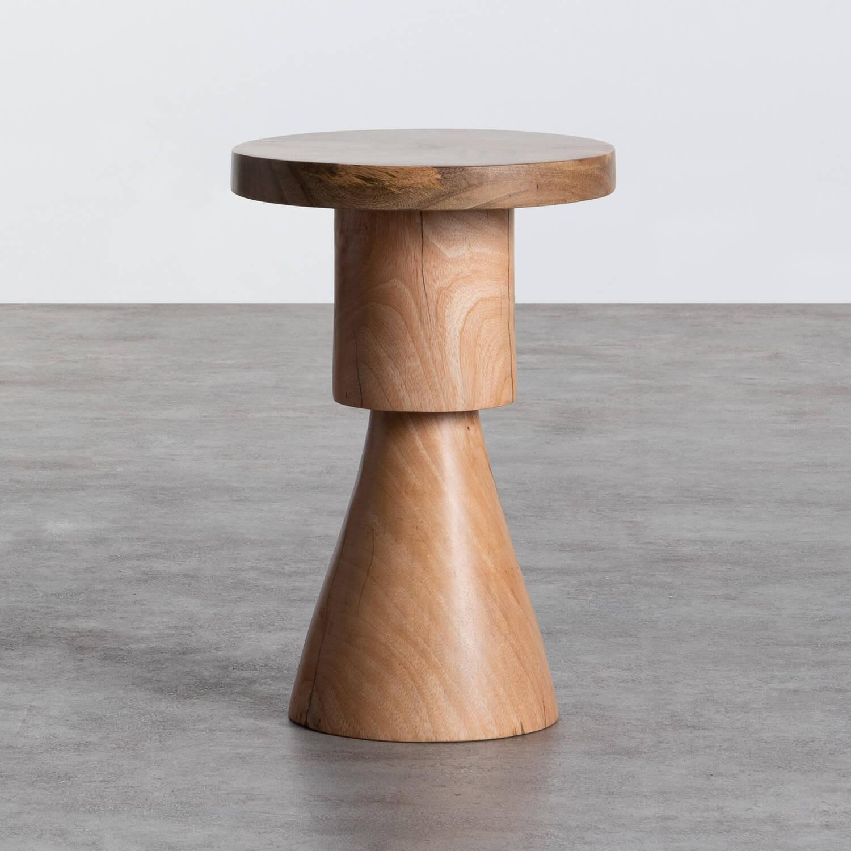 Niedriger Hocker aus Holz Daki (46 cm), Galeriebild 1